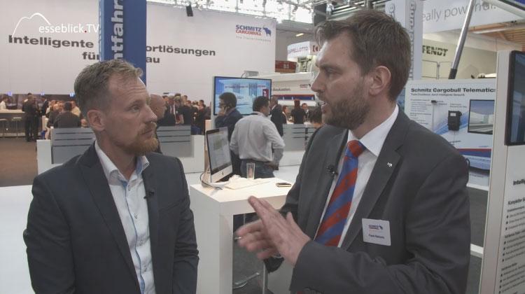 Frank Reinartz, Schmitz Cargobull im Interview mit Messeblick.TV - bauma 2016
