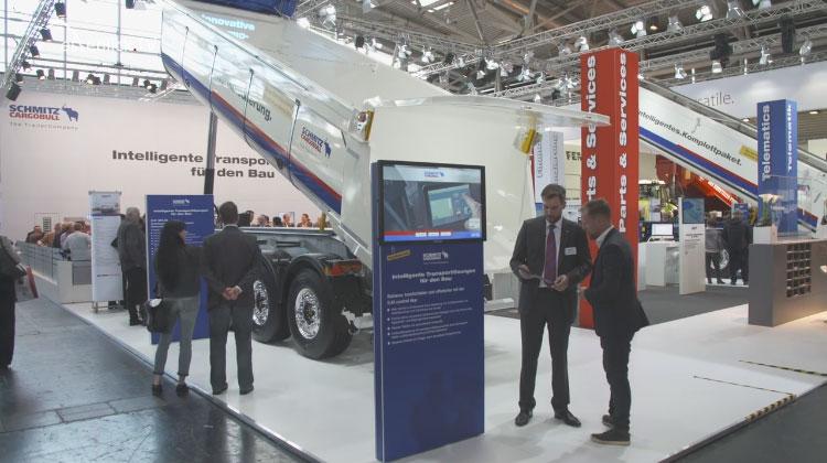 Schmitz Cargobull im Messe-TV zur bauma 2016 München