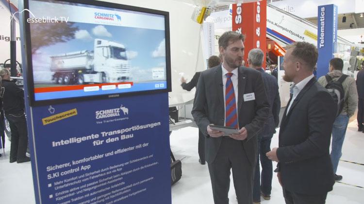 Schmitz Cargobull intelligente Transportlösungen - bauma 2016 München