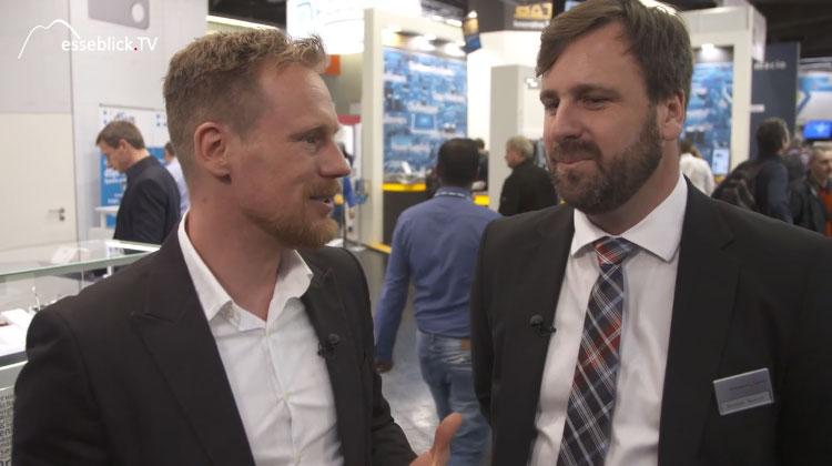 Benedikt Weyerer im Interview mit Messeblick.TV auf der embedded world 2016 Nürnberg