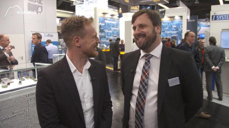 Benedikt Weyerer spricht im Messe TV über die embedded world 2016 Nürnberg