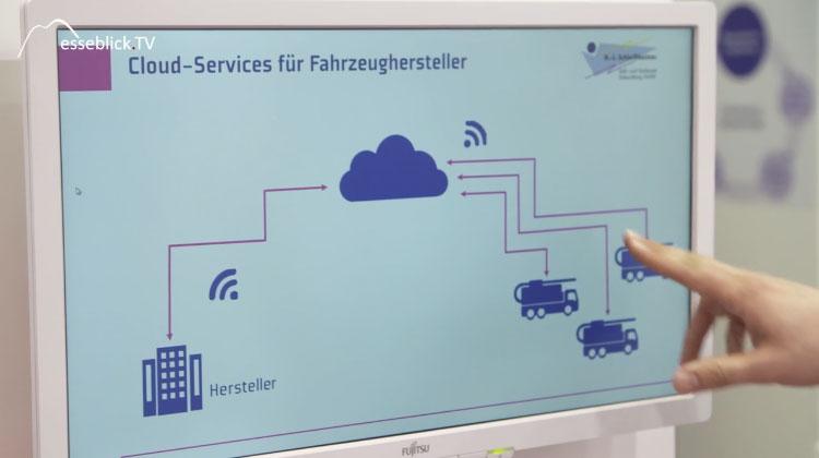 Schleißheimer Cloud Zugriff Fahrzeugdaten - embedded world 2016 Nürnberg