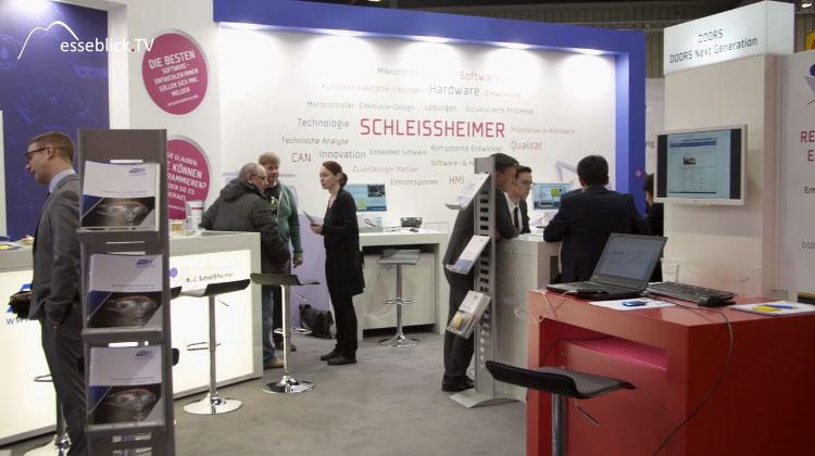 H.-J. Schleißheimer - embedded world 2016 Nürnberg