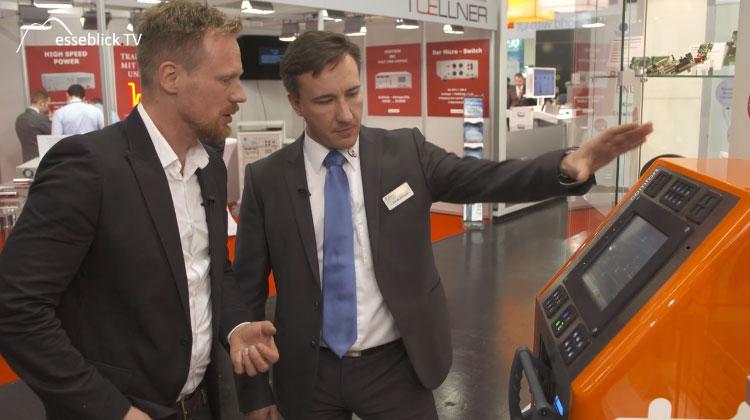 Pascal Baumgärtner, Schleißheimer im Interview mit Messeblick.TV - embedded world 2016 Nürnberg