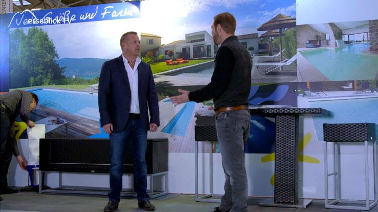 Poolbau Desjoyaux Messe TV - Heim+Handwerk 2016 München