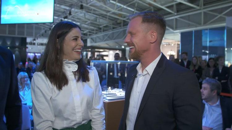 Funda Vanroy im Interview mit Messeblick.TV - Inhorgenta Munich 2016