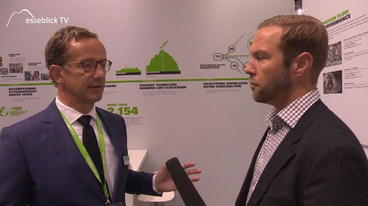 Messeblick.TV Interview mit Herrenknecht Tunnelbau - Innotrans 2016 Berlin