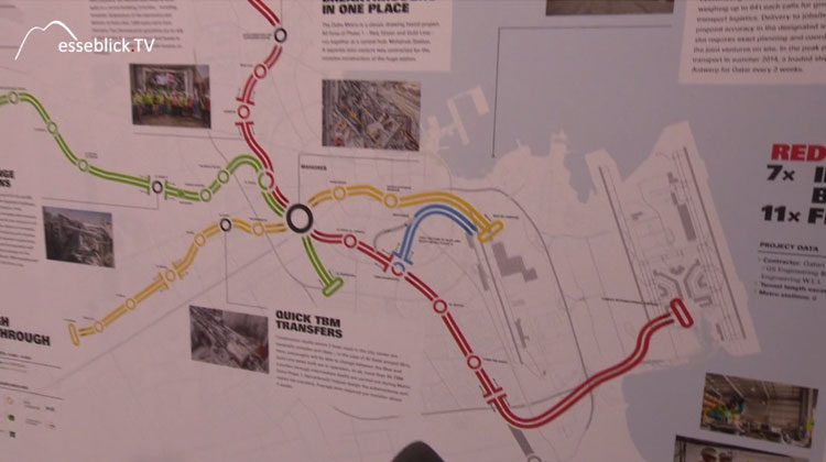 Herrenknecht Metro Tunnelprojekt in Doha mit Katar Rail - Innotrans 2016 Berlin