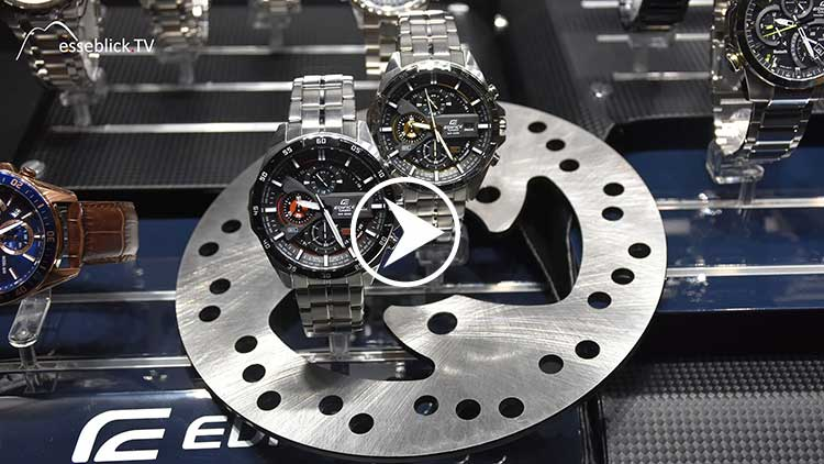 CASIO Edifice Uhren • Messeblick.TV