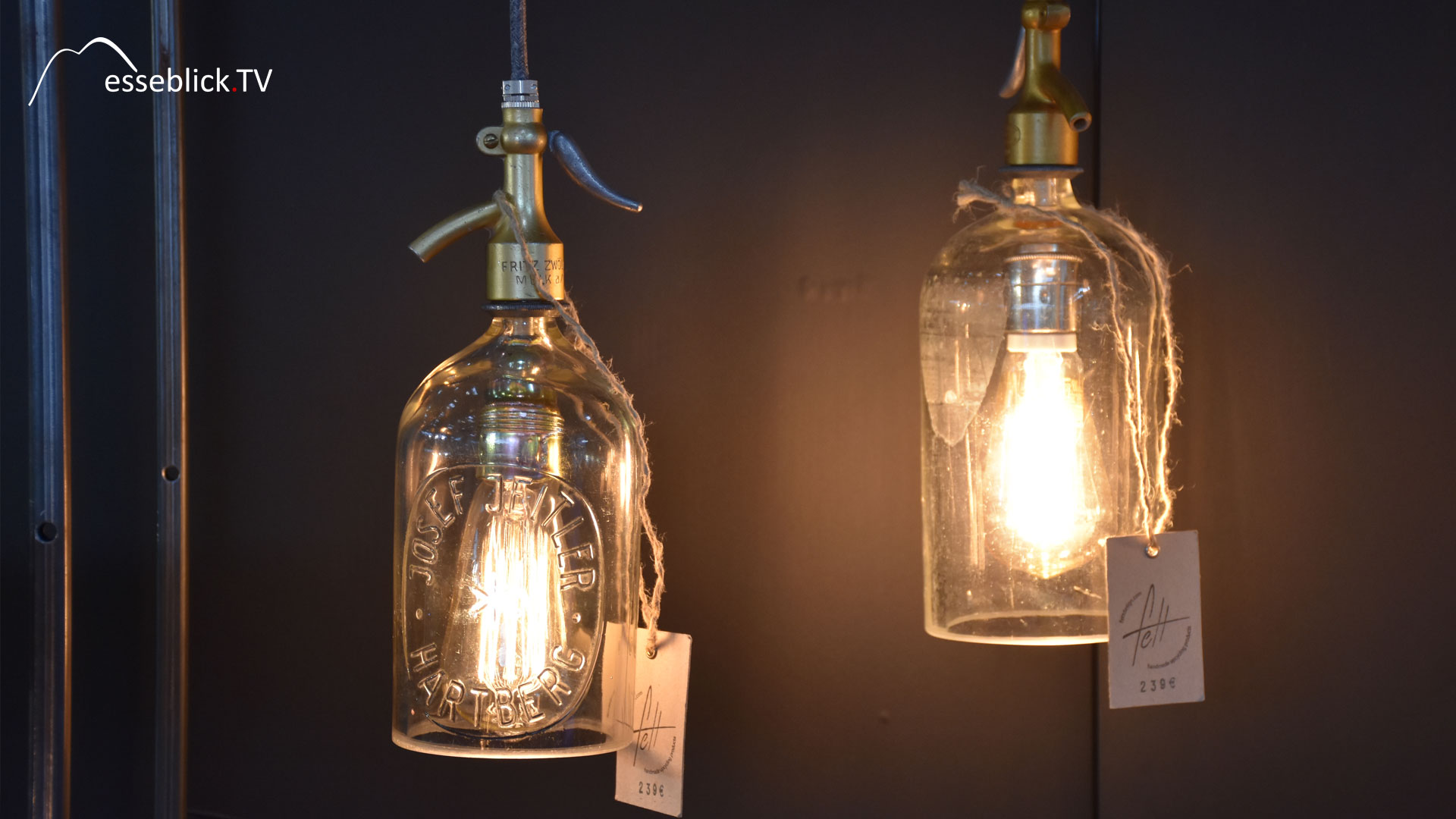 Recycling Lampe