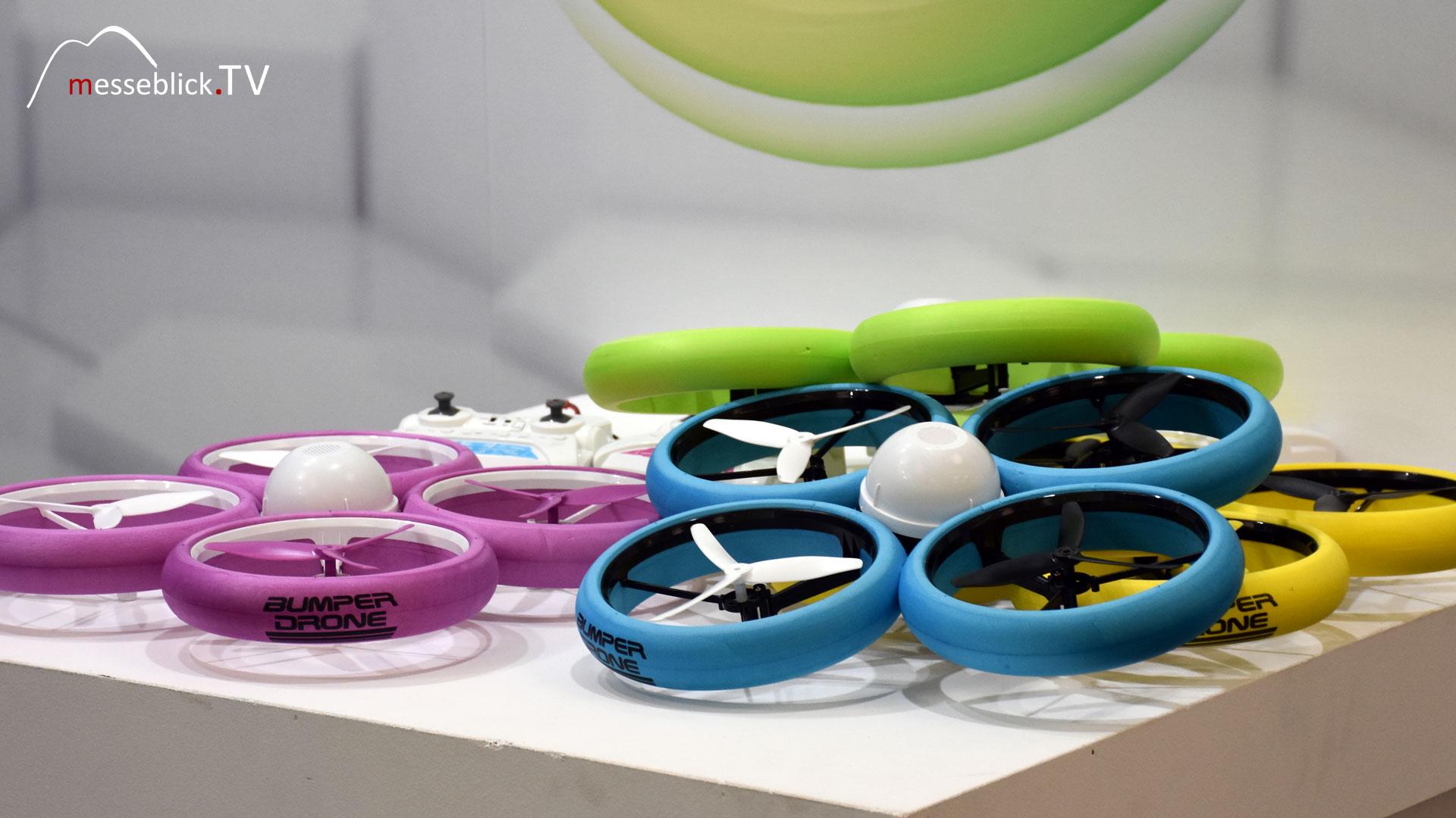 Bumper Drohnen - Spielwarenmesse 2018