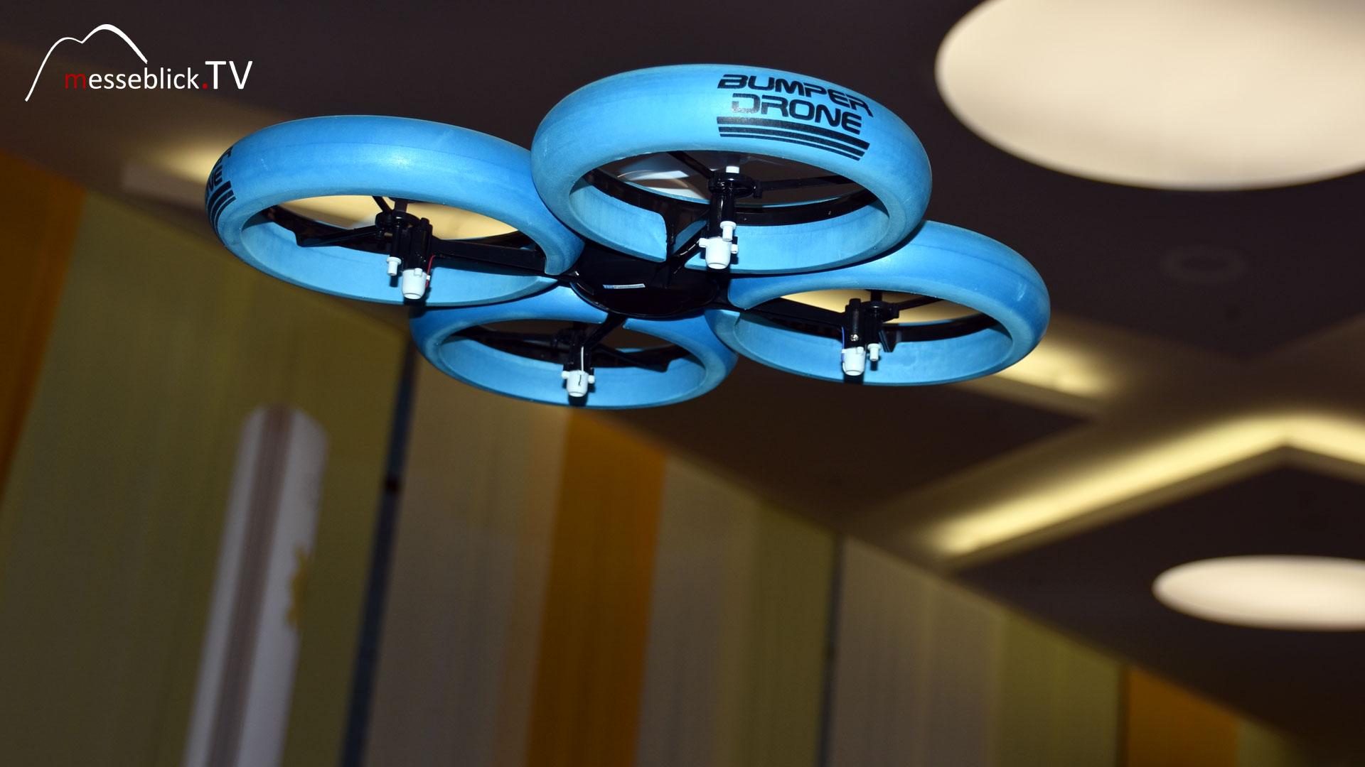 Bumper Drone im Flug