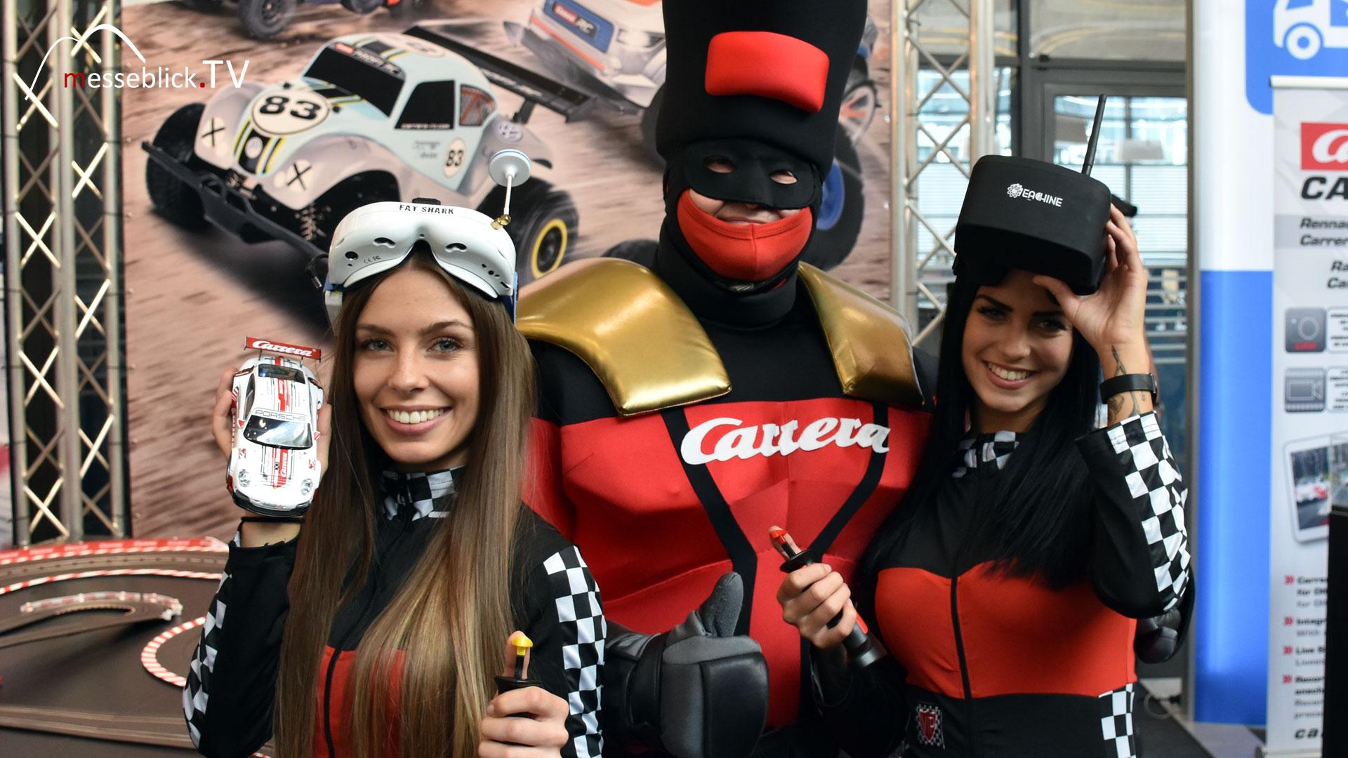 Carrera Autorennbahnen mit Captain Carrera