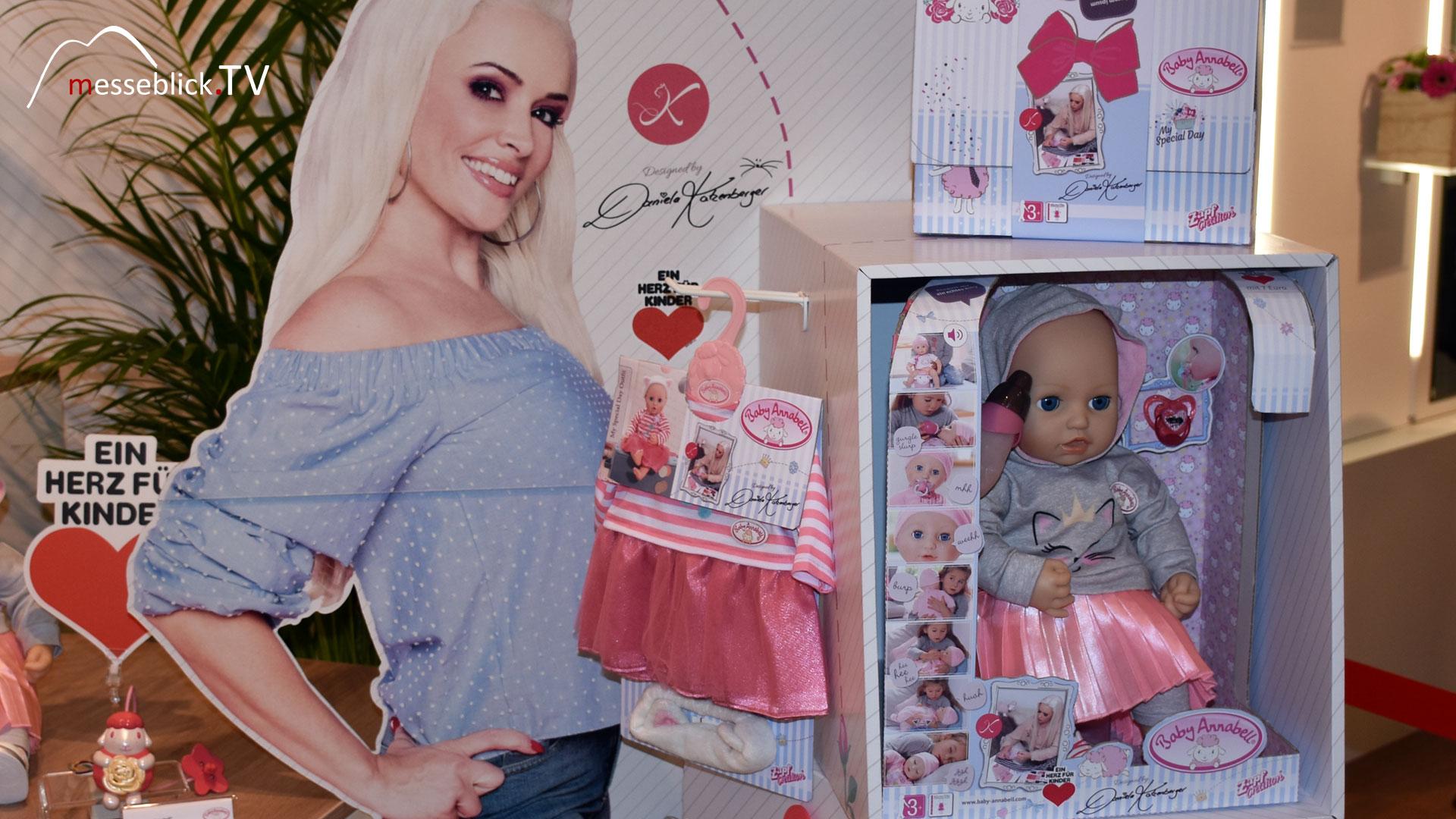 Daniela Katzenberger - Markenbotschafterin Baby Annabell