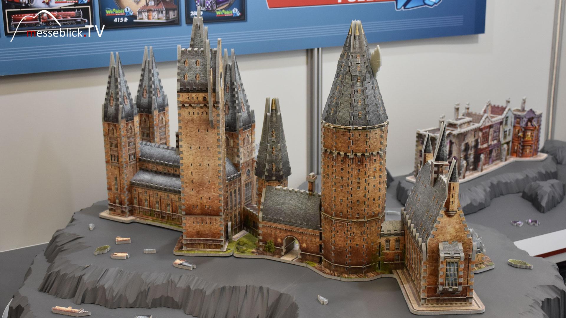 Hogwarts 3D Puzzle - Wrebbit 3D