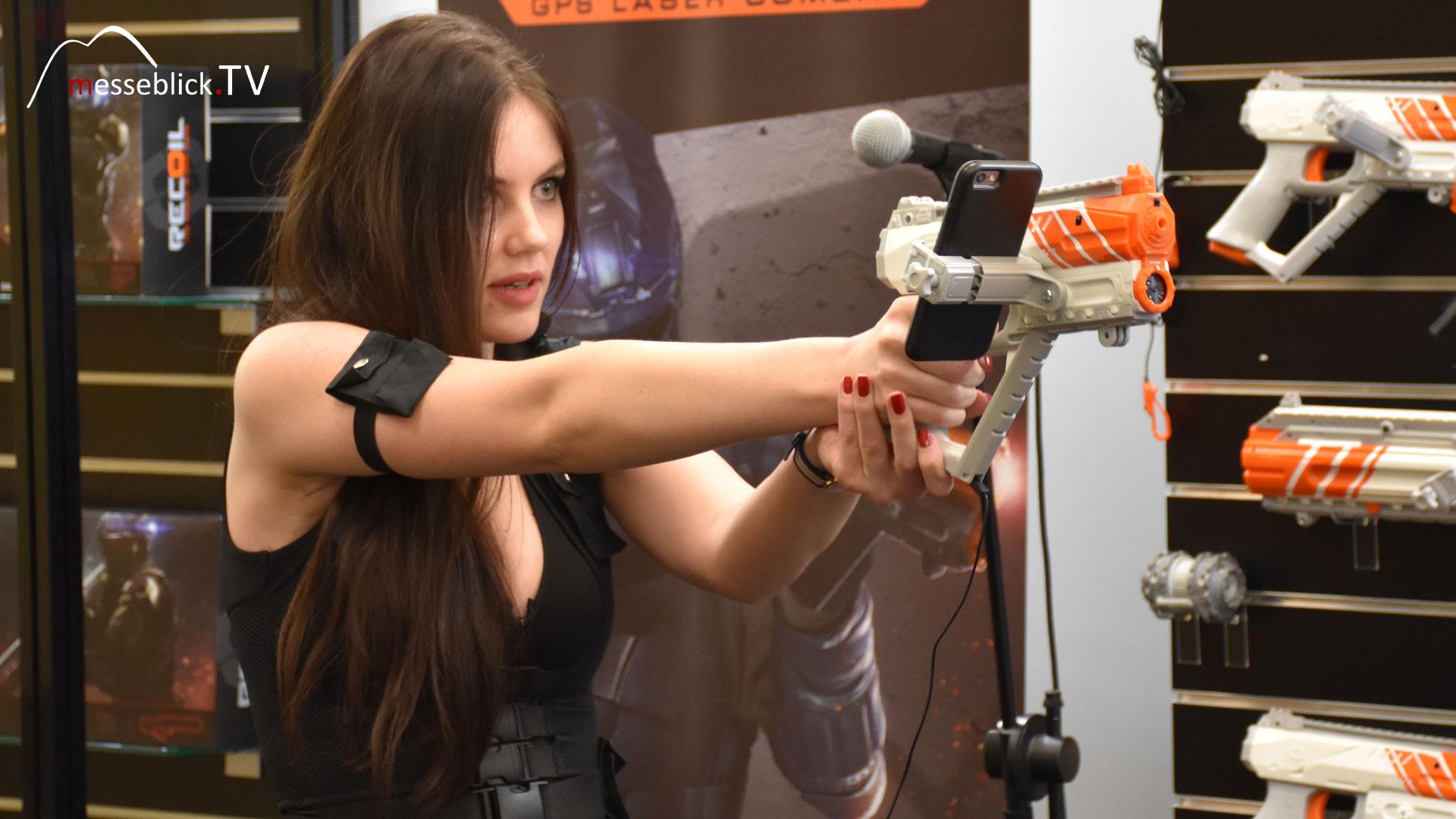 Recoil GPS Laser Combat Goliath