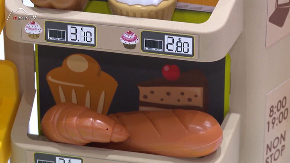 Smoby Baeckerei Kinderkaufladen Croissant Spielwarenmesse