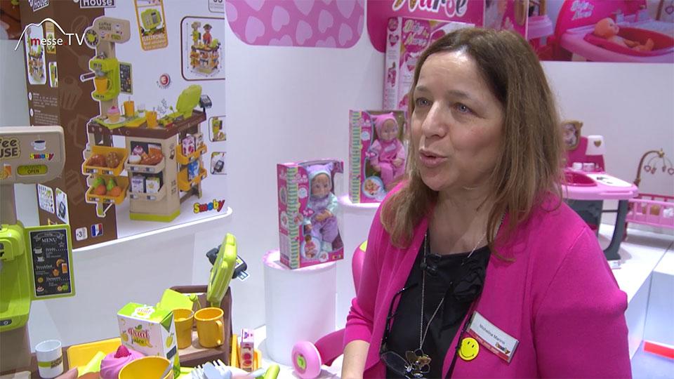 Smoby Interview Michaelina Marino Spielwarenmesse