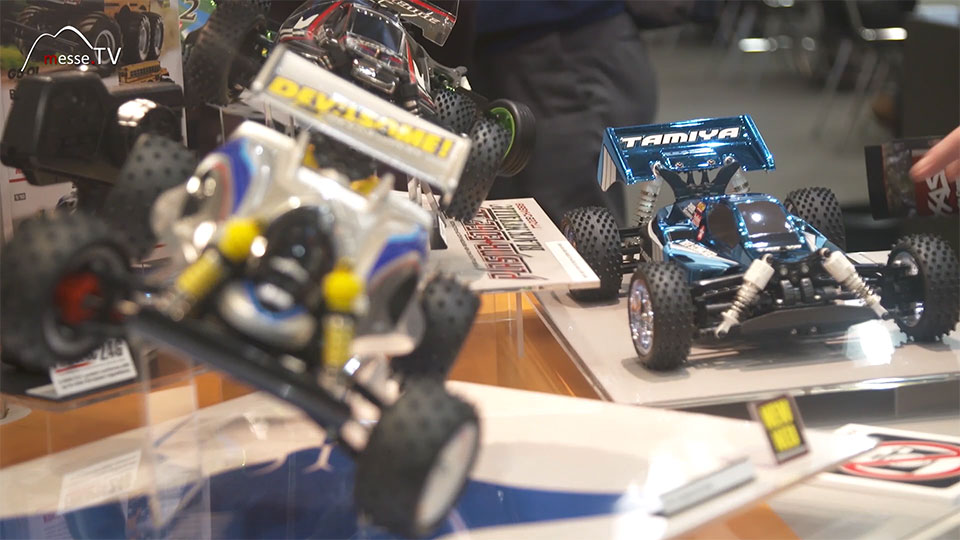 Tamiya Fahrzeug funkgesteuert RC Messeneuheit - Spielwarenmesse