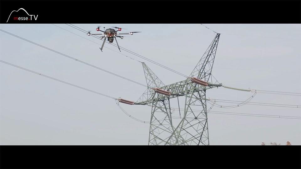 Walkera Drohne Wartung Hochspannungsleitung Kamera - Spielwarenmesse
