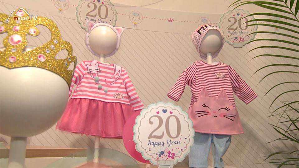 """Zapf Creation Design Puppenkleidung """"Katze"""" - Spielwarenmesse"""