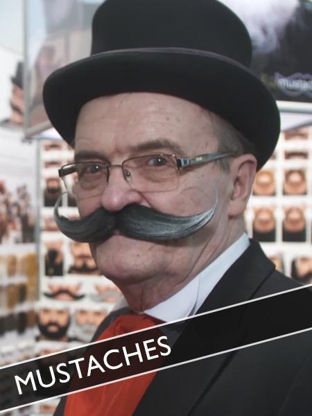Mustaches falsche Bärte