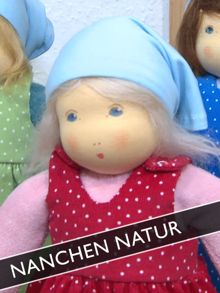 Nanchen Natur Puppen