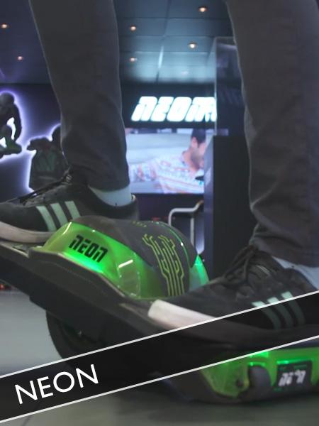 Neon Balance Board