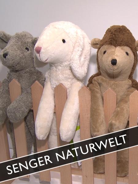 Senger Naturwelt Öko Kuscheltiere