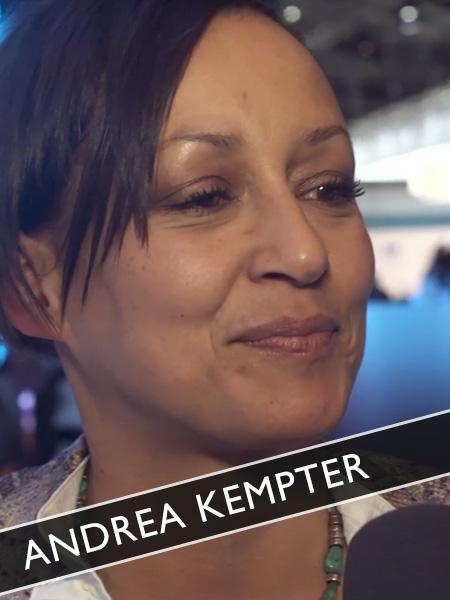 Andrea Kempter Moderatorin + Designerin