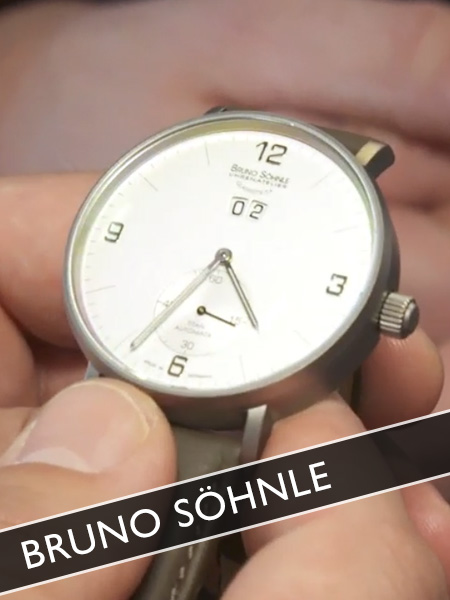 Bruno Söhnle Uhren Glashütte