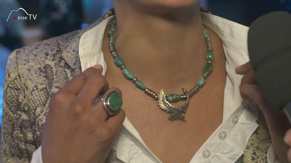 Halskette Ring Guardian Angel