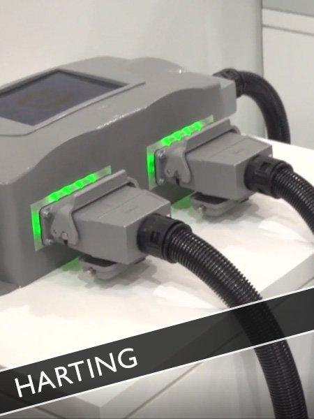 Harting Steckverbinder Netzwerkkomponenten Smart Factory