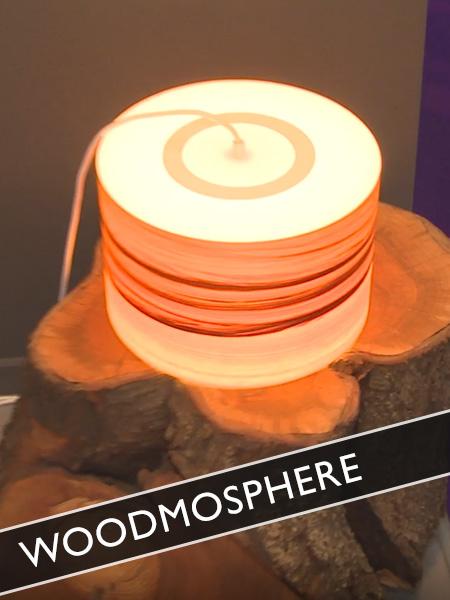 Woodmosphere Licht durch Holz