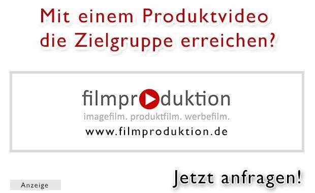 Filmproduktion Produktfilm