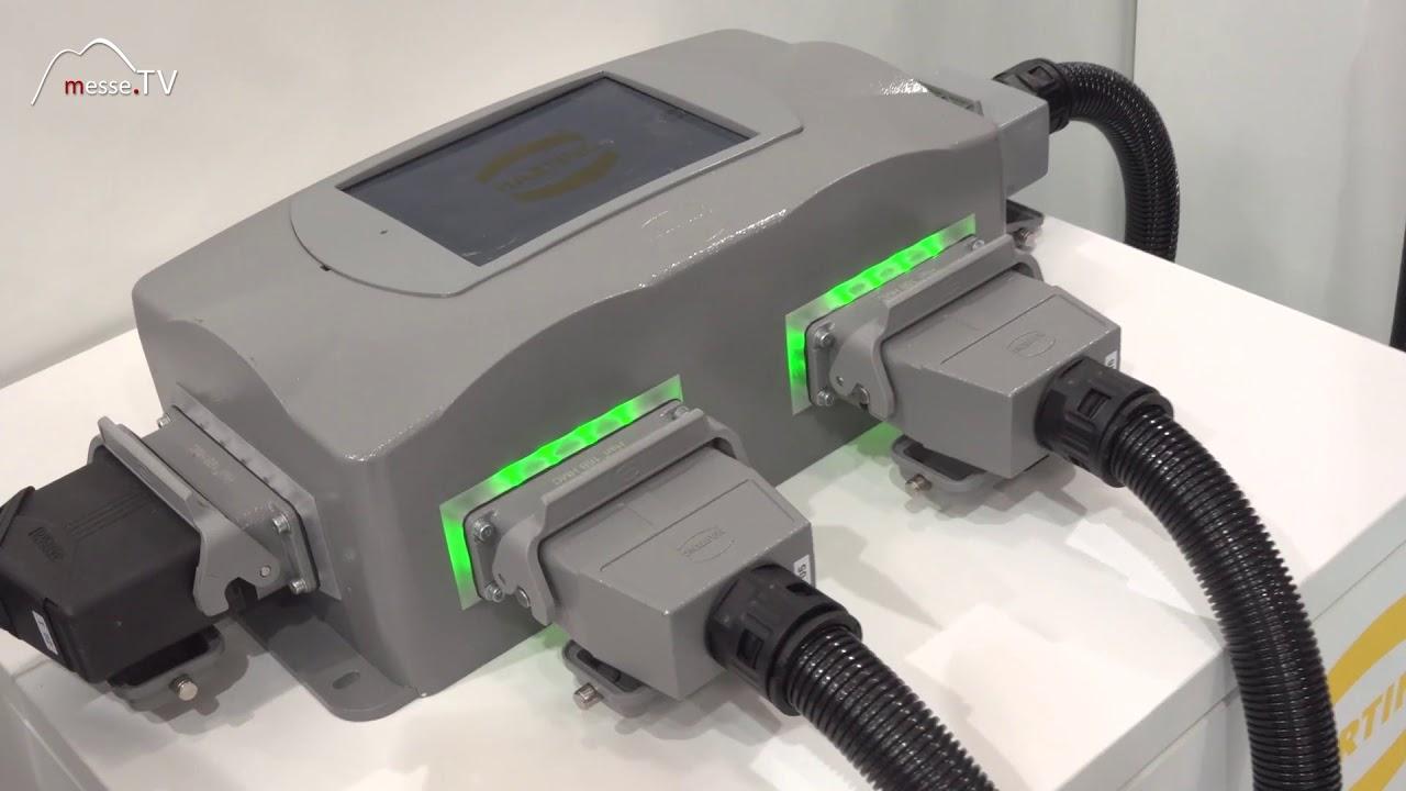 Harting Steckverbinder + Netzwerkkomponenten