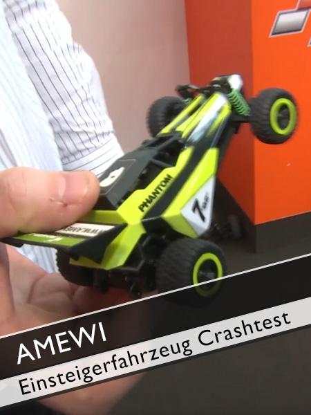 AMEWI Einsteigerfahrzeug Crashtest