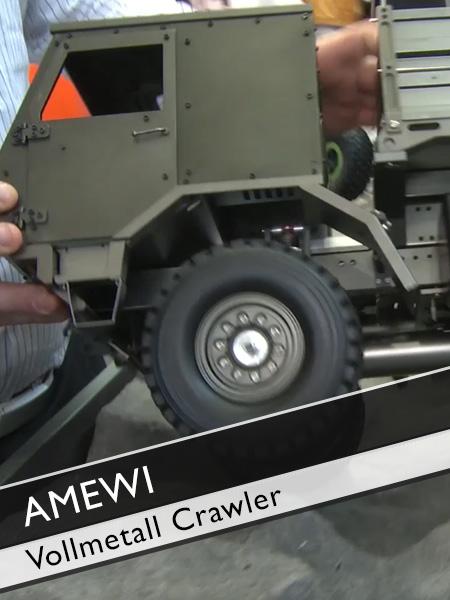 AMEWI Vollmetall Crawler
