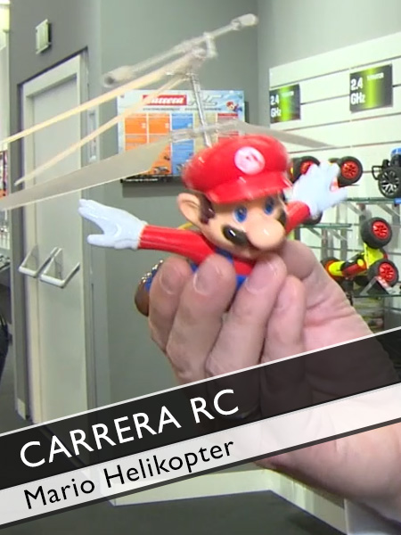 Carrera RC Mario flying cape Helikopter