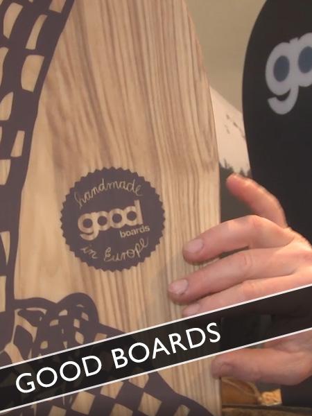 Good Boards Snowboards und Skier aus Holz