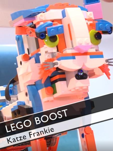Lego Boost Katze Frankie