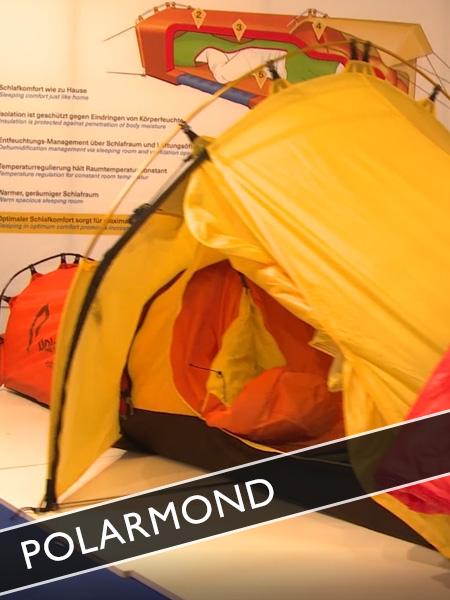 Polarmond Outdoor Schlafsystem Trekking Zelt mit Schlafsack