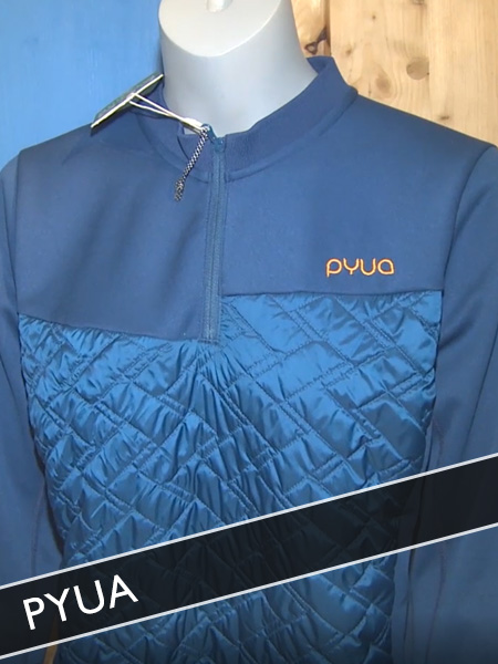 Pyua ökologische Sportbekleidung aus Recyclingmaterial