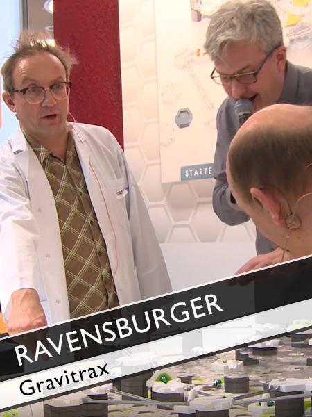 Ravensburger Gravitrax Wigald Boning vs Bernhard Hoecker