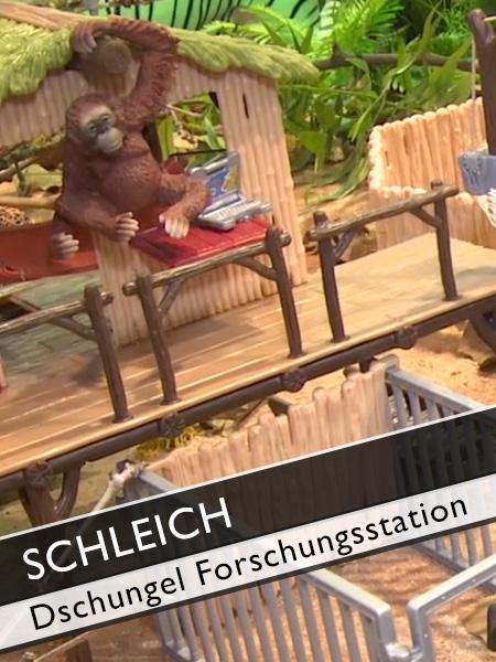 Schleich Dschungel Forschungsstation