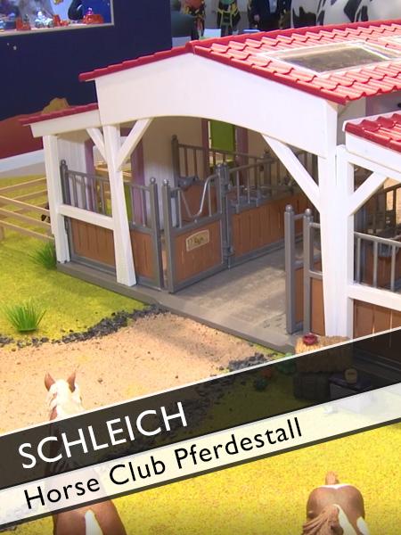 Schleich Horse Club Pferdestall mit mobiler Tierärztin