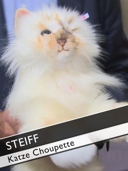 Steiff Choupette Stofftier Katze Karl Lagerfeld