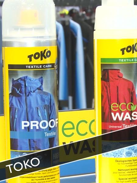 Toko Textilreinigung und Pflege für Sportkleidung