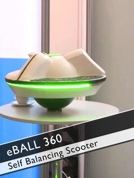 eBall 360 Grad self balancing Scooter