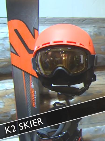 Skier von K2